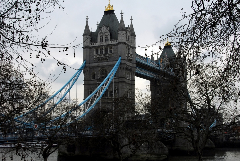 106 - The Tower Bridge from Tower of London