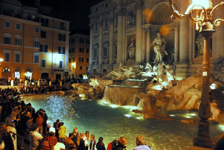 Trevi Fountain ' Rome