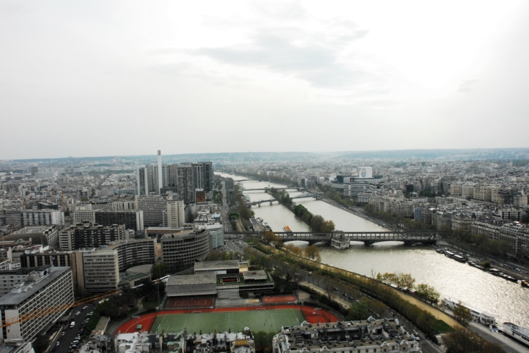 1298 - View from the Eiffel Tower