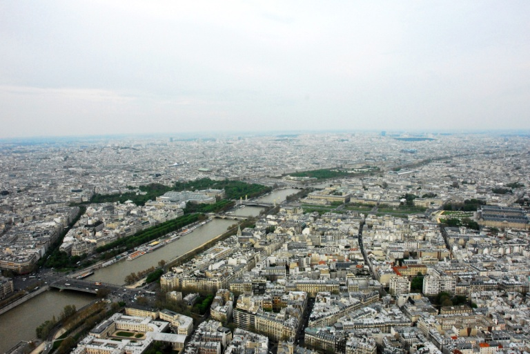 1304 - View from the Eiffel Tower