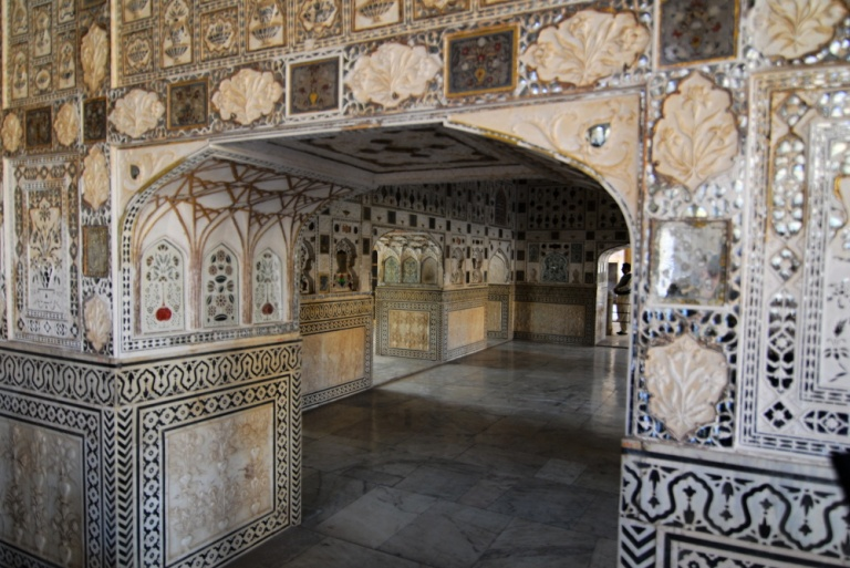 440 - Amber Fort Palace of Mirrors Jaipur Rajasthan