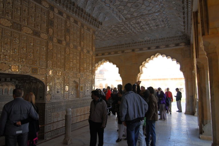 441 - Amber Fort Palace of Mirrors Jaipur Rajasthan