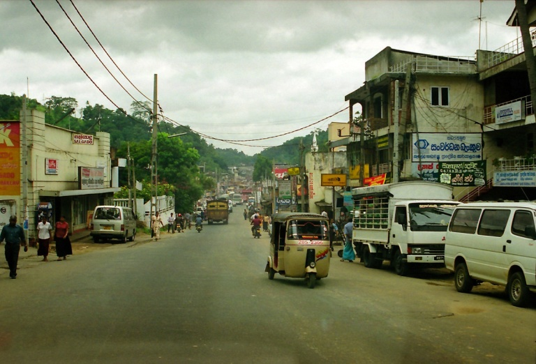 70 - Town outside Colombo