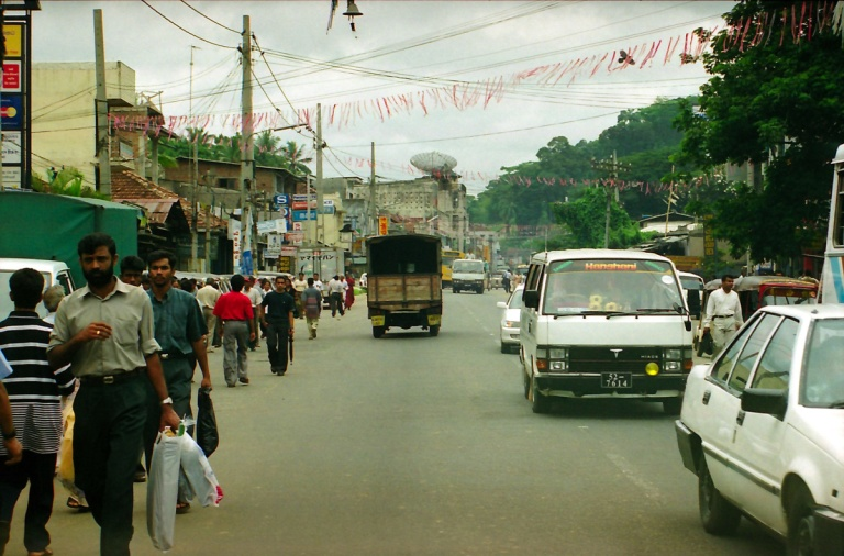 72 - Town outside Colombo