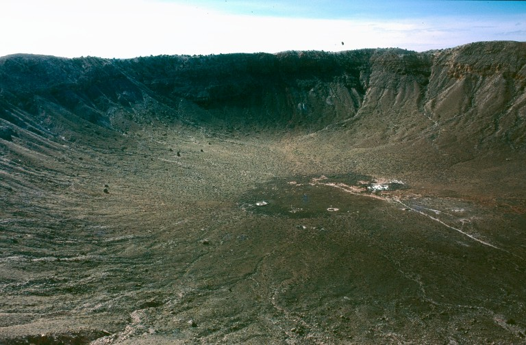 17- 65 Wolf creek meteor crater Colorado