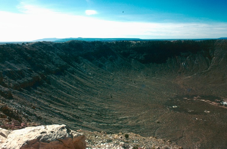 17- 66 Wolf creek meteor crater Colorado