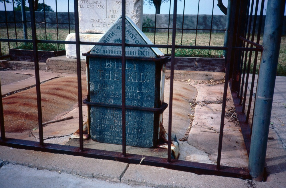 18-49 Billy The Kid Grave Ft Sumner New Mexico