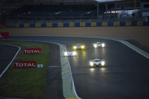 Sunday morning, best time at Le Mans
