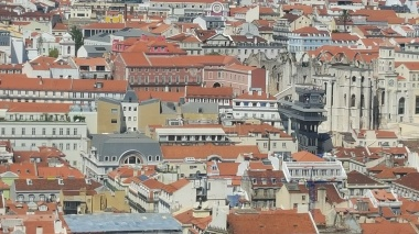 From St George Castle -Lisbon