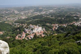 From the Moorish Castle - Sintra
