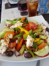 Greek food - yum