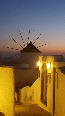 Windmill at Oia