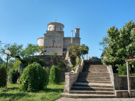 Orthodox church near Ostrog