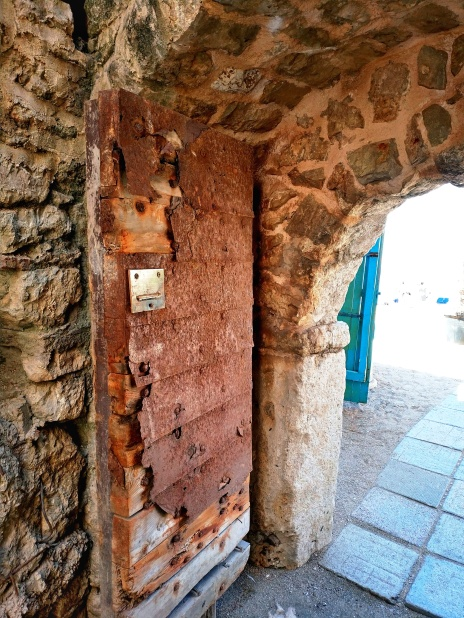 Budva fort entry